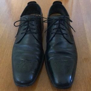 Cole Haan Black Leather Lace-up Oxford 11